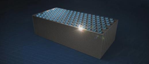 3D 낸드플래시 칩을 그래픽으로 형상화한 이미지./ 삼성전자 제공