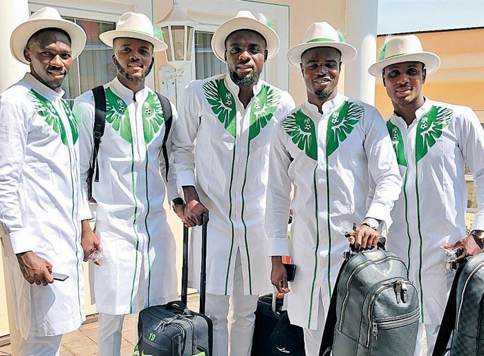 나이지리아 대표팀 '월드컵 단복'