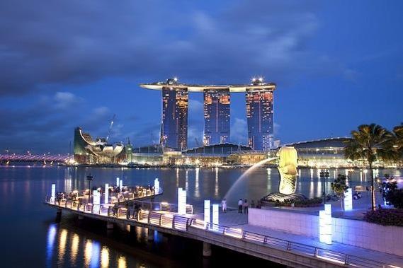 싱가포르 마리나 베이 샌즈 호텔. /쌍용건설 제공