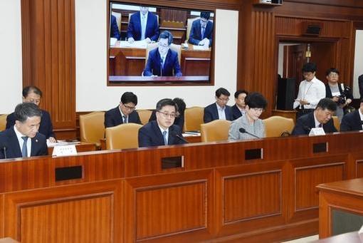 지난달 10일 정부서울청사에서 열린 제6차 경제관계장관회의에서 김동연 경제부총리 겸 기획재정부 장관이 모두발언을 하고 있다. /기재부 제공
