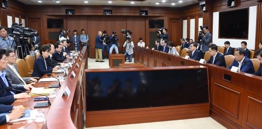 15일 서울 종로구 정부서울청사에서 열린 제99차 대외경제장관회의 모습. /기재부 제공