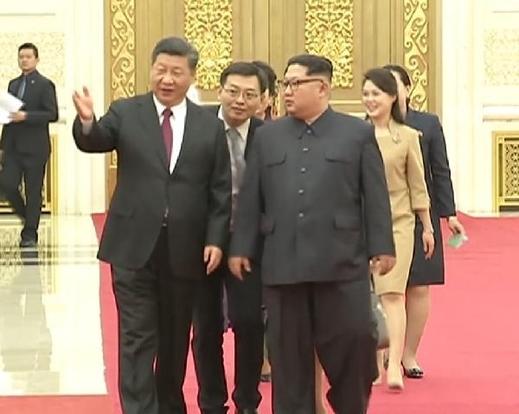 김정은, 시진핑에 5년만에 생일축하 서한…'혈맹' 강조