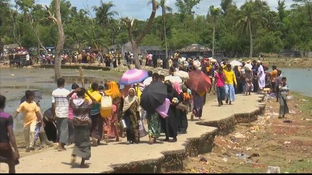 [Al jazeera] UN says record number pf people displaced worldwide