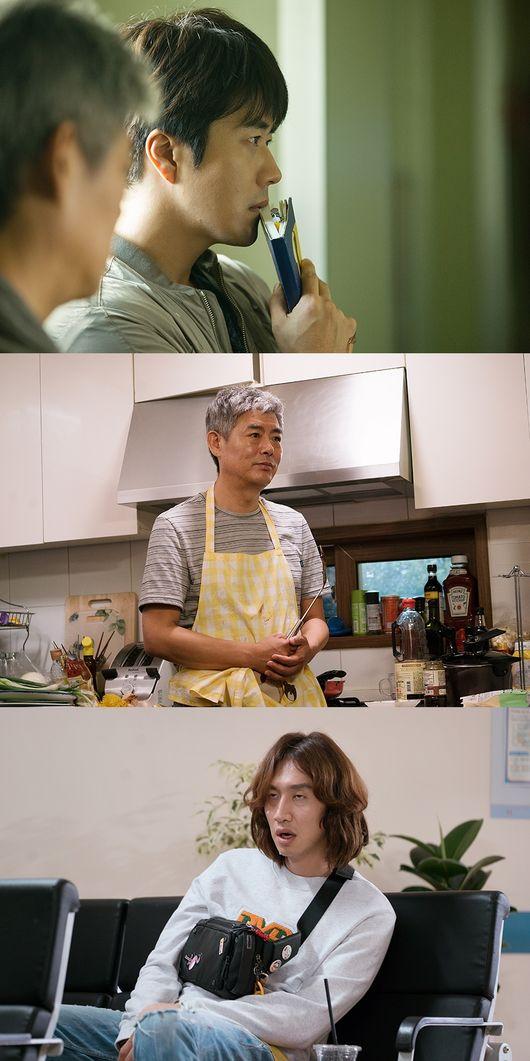 [Oh!쎈 컷] '탐정'2 권상우X성동일X이광수, 극과 극 반전美