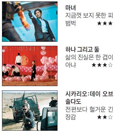 [이번주 개봉영화 딱 10자평] '마녀' 외