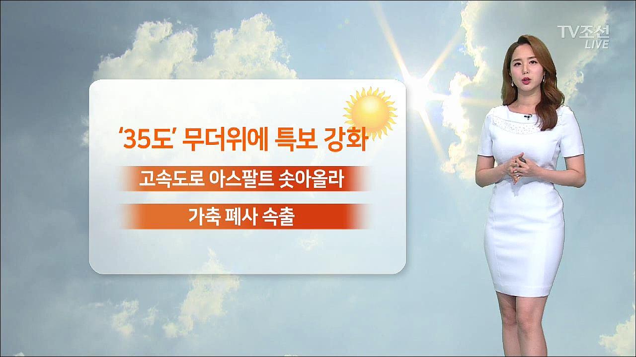 [날씨] '초복' 극심한 더위 계속…남부 미세먼지↑
