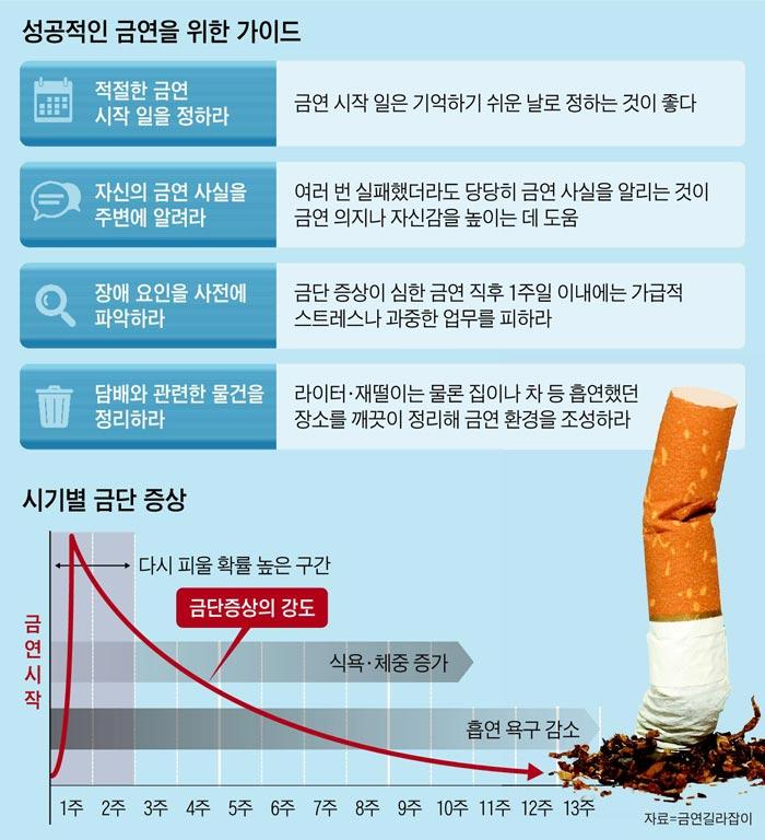 성공적인 금연을 위한 가이드