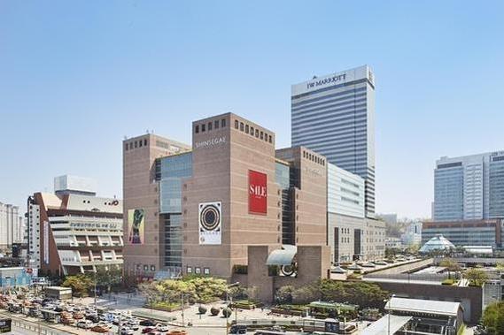 서울 반포동 센트럴시티에 위치한 신세계 강남점