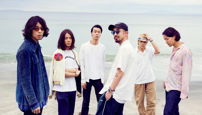 일본 밴드 서치모스는 최근 일본에서 '가장 세련된 밴드'로 불린다. 왼쪽부터 도쓰카 다이키, 오하라 가이키, 가사이 요스케, 고스기 하야타, 사쿠라우치 다이헤이, 오하라 겐토.