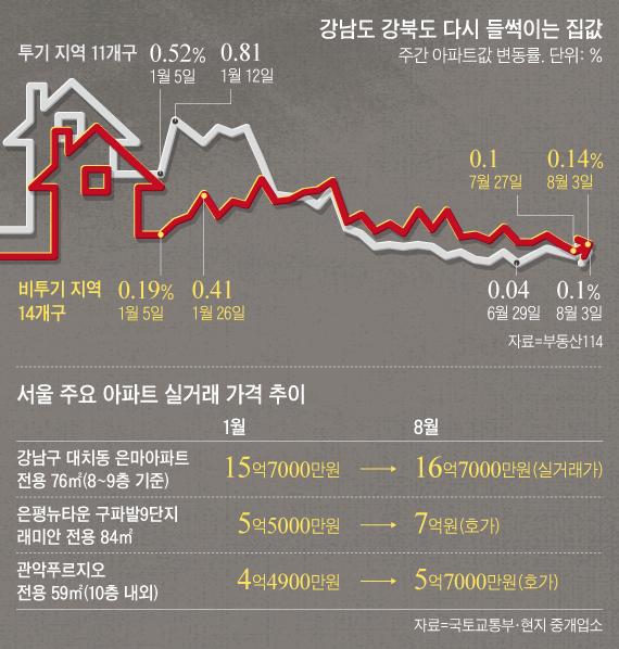 서울 집값이 다시 들썩이면서 정부의 추가 부동산 규제에 관심이 쏠리고 있다. /조선일보 DB
