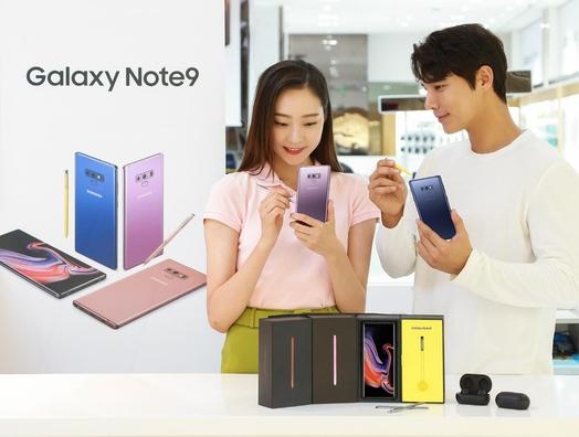 갤럭시노트9의 예약판매가 13일부터 20일까지 이어진다. /삼성전자 제공