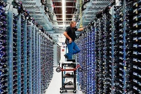 미국 오클라호마주 메이스 카운티의 구글 데이터센터. /구글 제공