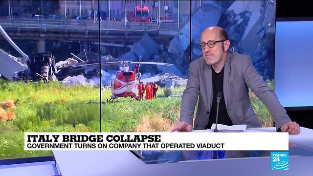 [France 24] Italy motorway collapse: who will pay?
