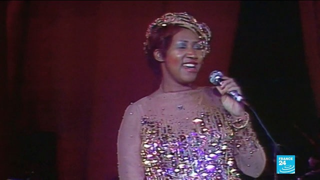 [France 24] 'Queen of Soul' Aretha Franklin dies at 76