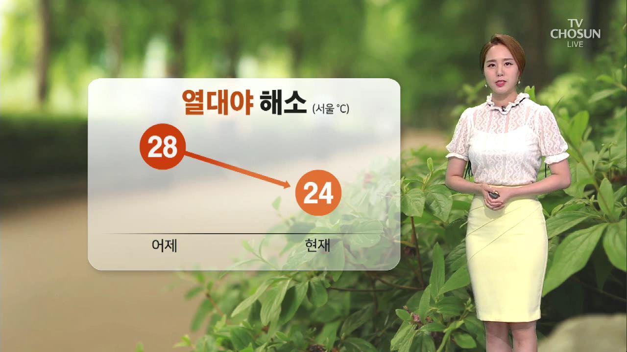 [날씨] 대부분 지역 열대야 해소…한낮 서울 34도·대구 29도