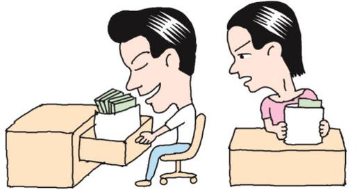 3大백화점, 男직원 100만원 지급할 때 女직원은 49만원만 줘