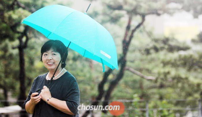 28일 서울 광화문에서 만난 와카타케 치사코