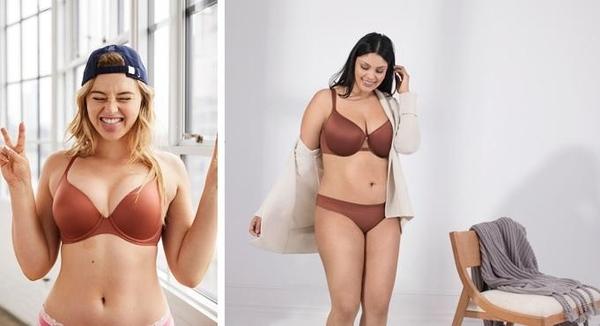 포토샵을 하지 않은 광고를 내세운 에어리(왼쪽)와 맞춤형 속옷을 판매하는 서드러브(오른쪽) 광고. / 각사 제공