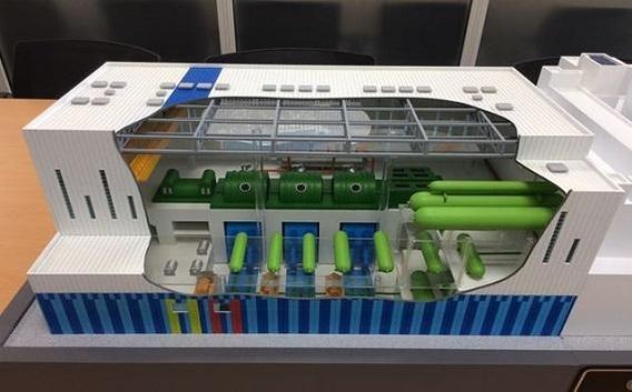 한국수력원자력이 입찰 참여 업체에 제시한 원전 모형의 예시./한수원 제공