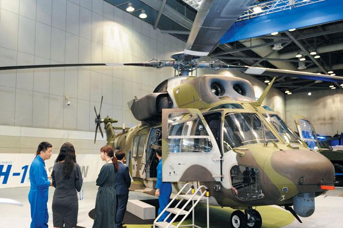 한국항공우주산업(KAI)의 수리온 헬기.