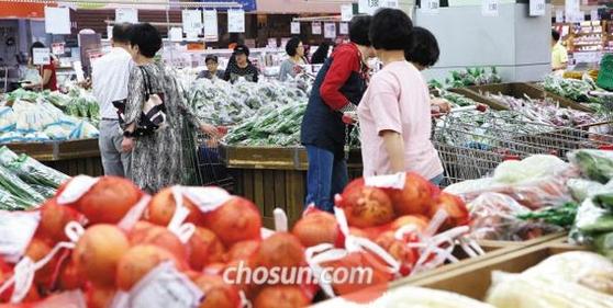 농림축산식품부는 12일 배추와 무 등 농산물 가격이 추석을 앞두고 크게 내리는 등 안정세를 찾아가고 있다고 밝혔다.  /김연정 객원기자