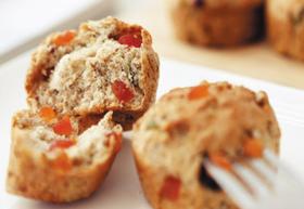 동물성 재료를 쓰지 않아 칼로리가 낮은 빵이 인기다. 일반 빵과 모양도 맛도 큰 차이가 없다.