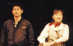 1994년 초연 때 출연한 나윤선(오른쪽)과 설경구.