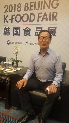 이병호 aT 사장은 올해 우리 농림수산식품의 중국 수출이 15억달러를 넘어 역대 최고수준에 이를 것으로 내다봤다. /베이징=오광진 특파원