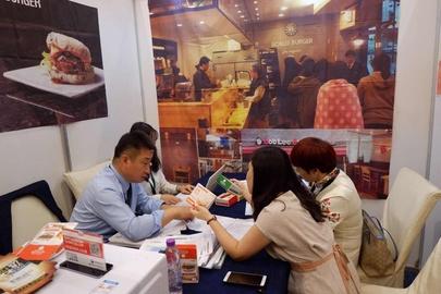 2018 베이징 K푸드페어 행사로 12~13일 베이징 JW메리어트호텔에서 진행된 수출상담회 /aT 제공
