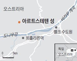 아르트스테텐 성 지도