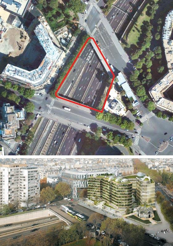 파리, 복층건물로 이렇게 변신합니다