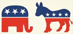 공화당과 민주당의 마스코트