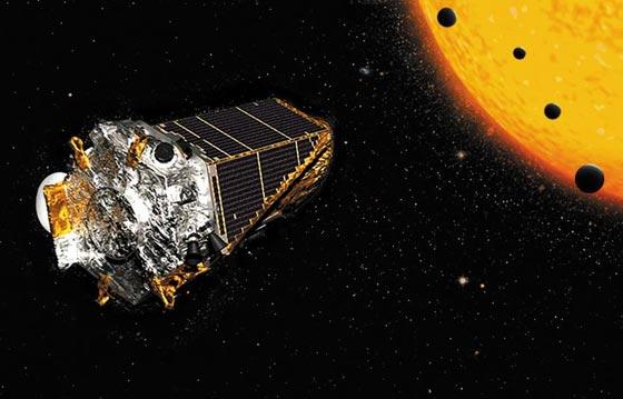 케플러 우주 망원경 상상도.