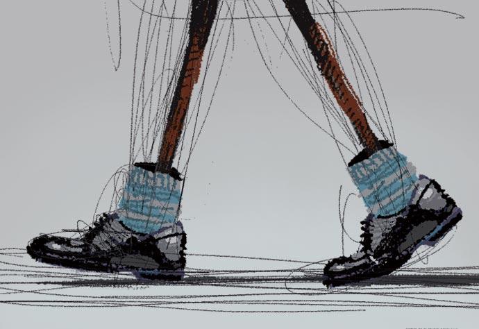 [장석주의 사물극장] [71] 자코메티의 '신발과 양말'