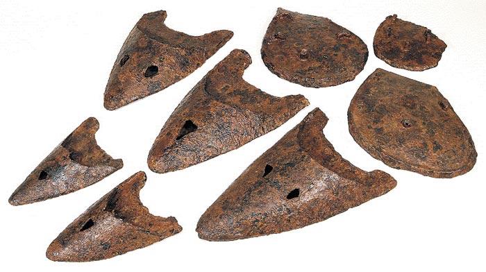 철제 보습과 볏, 언남리 유적, 한신대박물관.