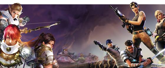 한국 게임업계에서 신작이 줄어들고 외산 게임의 공세가 이어지면서 대표적 한류 상품인 한국 게임산업이 위축되고 있다. 사진은 엔씨소프트가 PC 게임 리니지를 모바일 버전으로 만든 '리니지M'(왼쪽)과 한국에 출시한 미국 에픽게임즈의 '포트나이트'.
