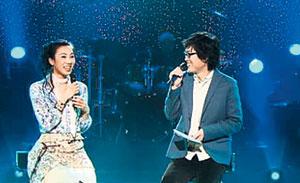 이소은(왼쪽)은 가수 김동률과 함께 부른 '기적' '욕심쟁이' 등으로 사랑받았다.