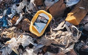 한국산 플라스틱 폐기물