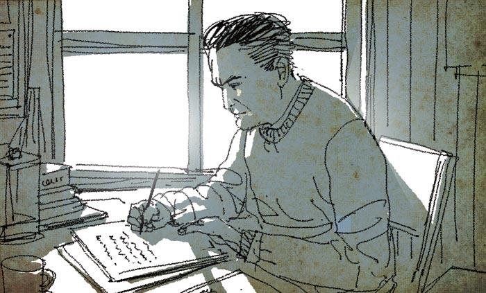 [장석주의 사물극장] [81] 작가 피츠제럴드의 '낡은 스웨터'