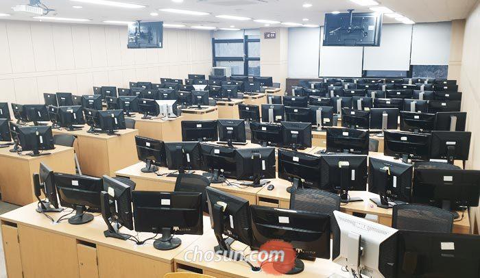 28일 서울대 컴퓨터공학부 소프트웨어 실습실의 모습.