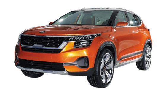 인도공장서 만드는 소형SUV - 기아차가 인도 공장에서 9월부터 양산할 예정인 소형 SUV(프로젝트명 SP2i)의 콘셉트 모델(SP).