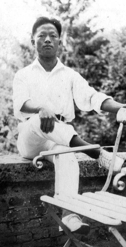 1925~1926년 무렵 서영해가 프랑스에서 활동하던 시절의 모습.