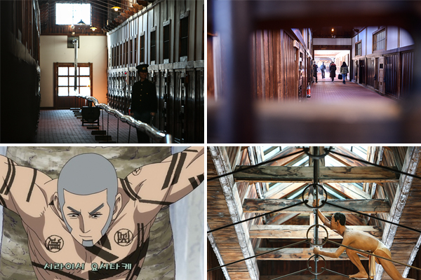 아바시리 감옥 박물관 내에는 당시 감옥의 상황과 스토리텔링을 밀납 인형들로 재현하고 있다.>