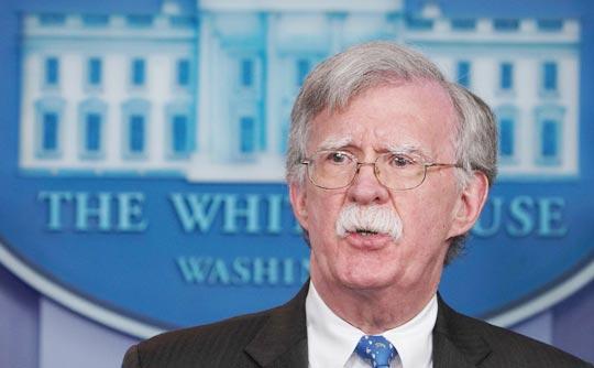 존 볼턴 백악관 국가안보회의 보좌관