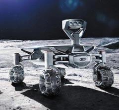독일 자동차업체 아우디가 개발한 달 탐사 로봇 차량 '아우디 루나 콰트'.