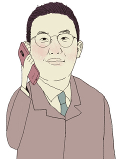 구광모 회장 일러스트