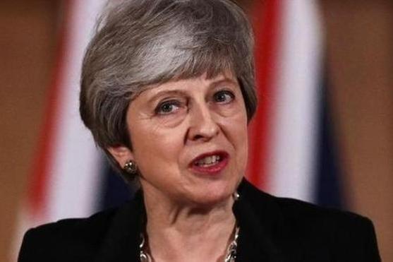 테리사 메이 영국 총리는 2019년 4월 2일 내각회의 후 유럽연합에 브렉시트 추가 연장을 요청할 것이라고 밝혔다. /AFP 연합뉴스
