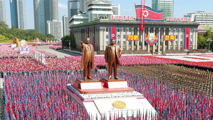 北, 9·9절 건국 행사 - 북한은 지난해 9월 9일 평양 김일성광장에서 건국 70주년 기념 9·9절 열병식을 성대하게 진행했다.