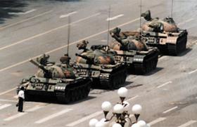 톈안먼 '탱크맨' 사진