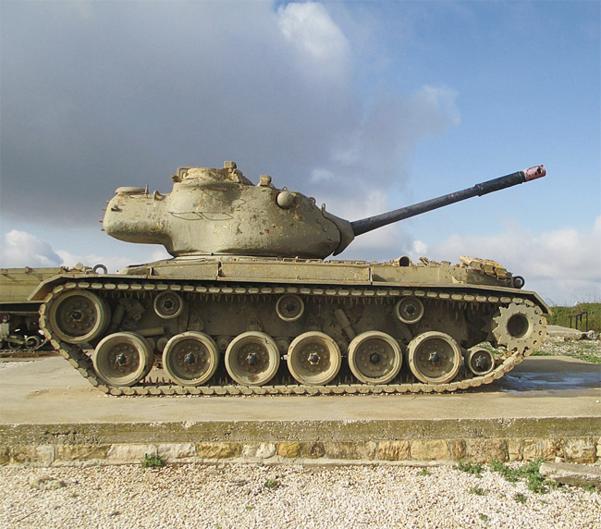 미국의 M47 전차. /위키미디어